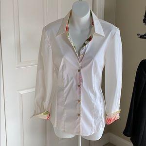 Roberto Cavalli floral blouse
